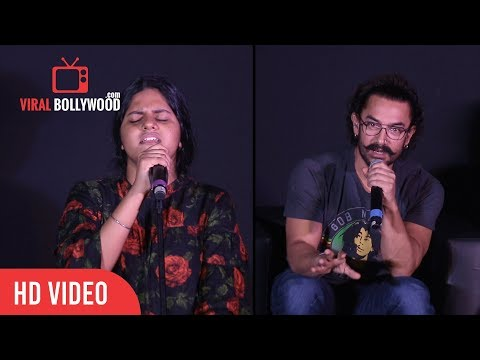 Aamir Khan About Meghna Mishra 14yr Old Singer | Secret Superstar
