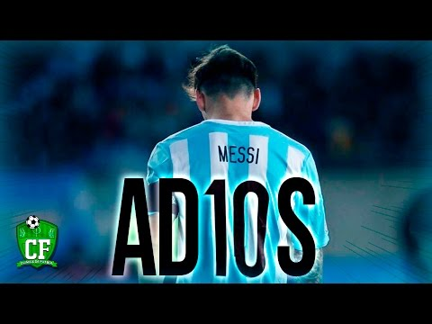 LA DESPEDIDA DE MESSI