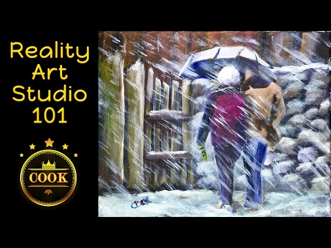 Reality Art Studio 101 - Season 1 Episode 1 - Be a Fly on Ginger Cook's Studio Wall