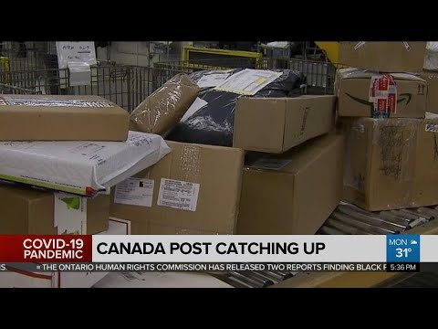 Canada Post Catching Up With Surge In Parcels Due To COVID-19