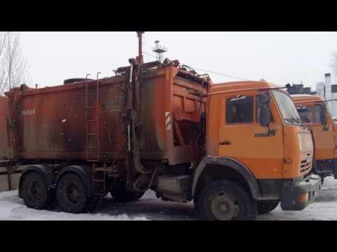 Мусоровоз КО-440-5   (2013 г.)   шасси КАМАЗ-65115 (6х4)  Евро-3