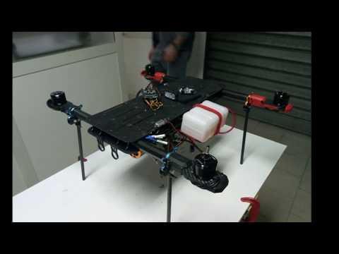 Sandwich Cargo Drone Project (hybrid propulsion system)