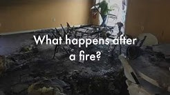 What Happens After A Fire - Fire Damage Repair & Restoration