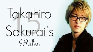 Voice Actor | 15 of Takahiro Sakurai