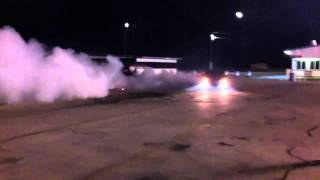 2006 GTO doing donuts