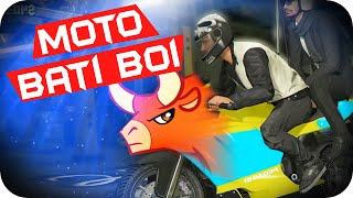 GTA 5 PC Online - A Épica Moto Bati Boi