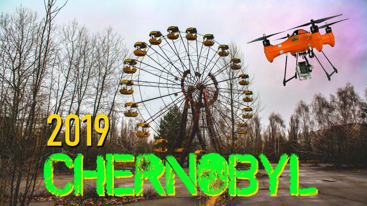 ☢️ Chernobyl 1986 vs. Chernobyl 2019 | 33 años después ☣️ HD Drone