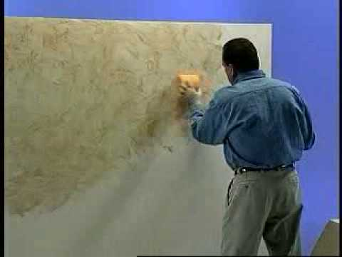 Faux Finish Paint Pleasing Faux Finish Video  Youtube Design Ideas