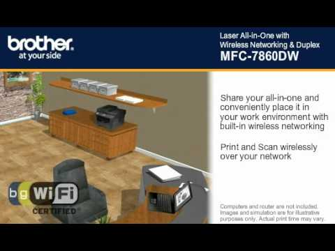 MFC-7860DW Brother Laser Multi-Function Center