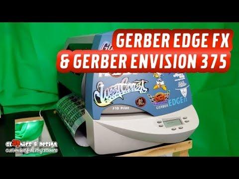 Gerber Edge FX & Envision 375