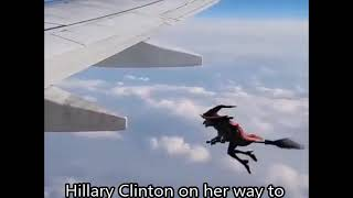 Hillary Clinton Heading To Her Next Campaign Rally (51919A)