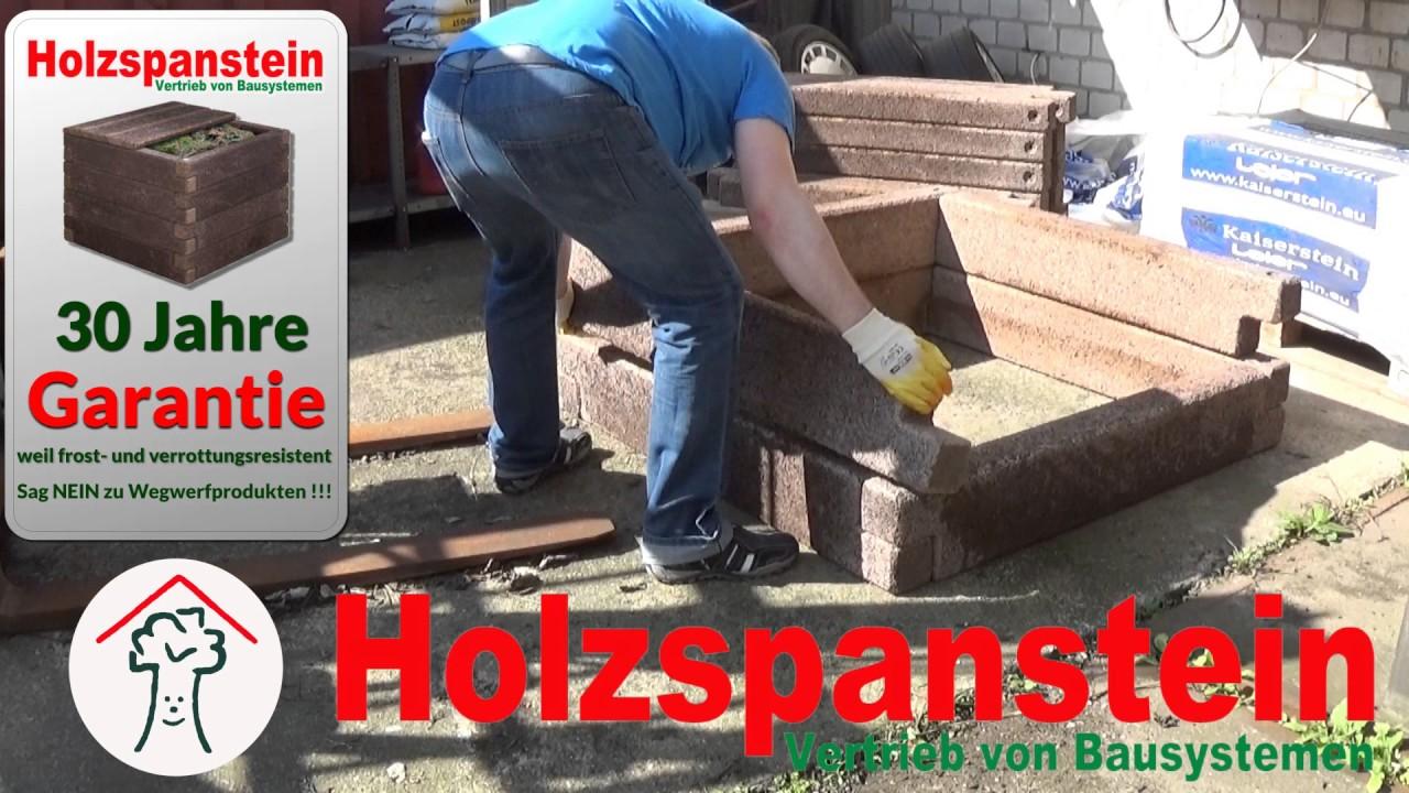 Hochbeet Komposter K Form Durisol Youtube