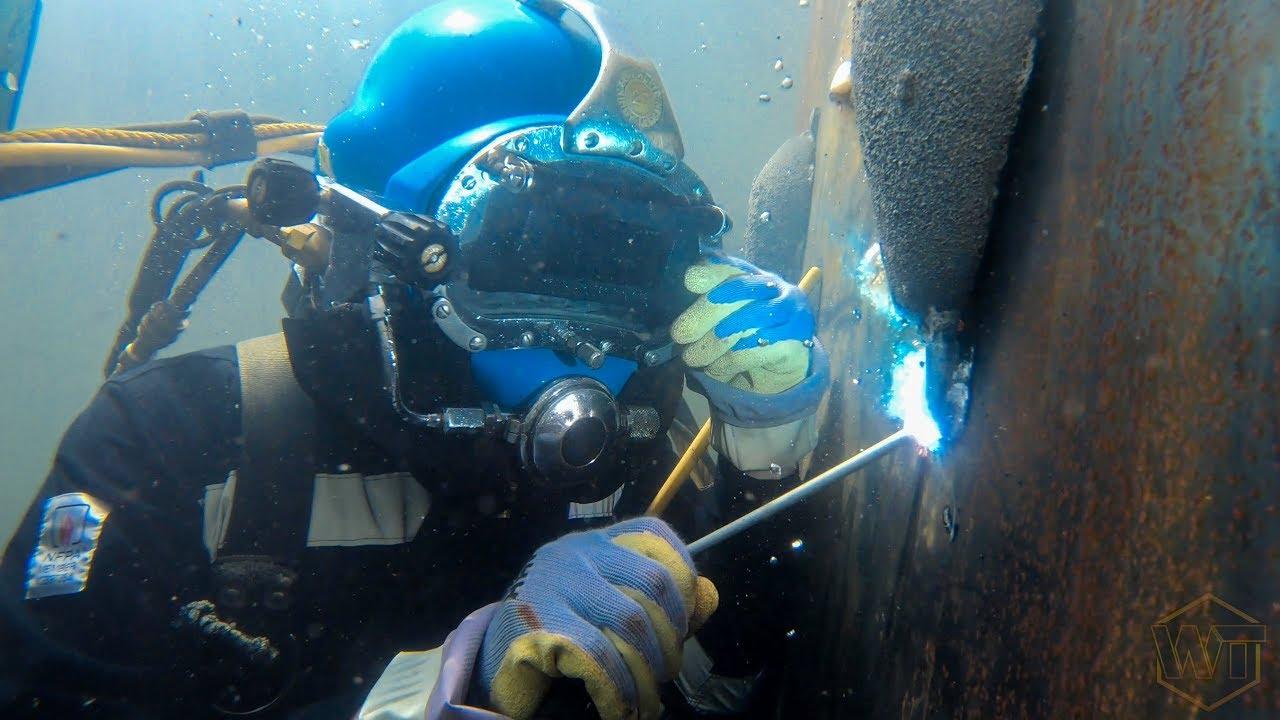 Underwater Welding 9 5 19 Youtube
