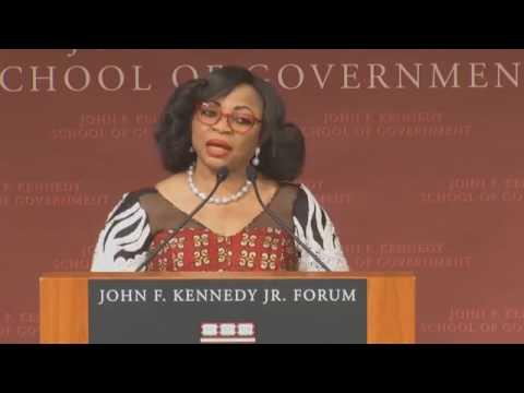 Folorunso Alakija on fire @ Africa Development Conference 2017