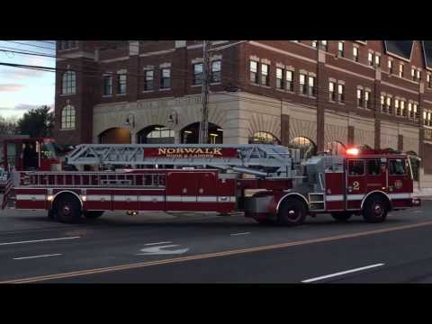 Norwalk Fire, Station 2 Full House Response