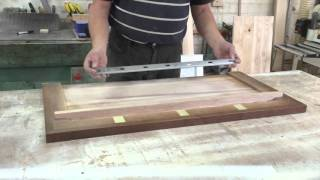 видео Письменная столешница из дерева