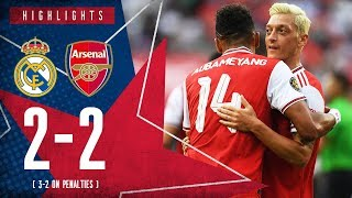 HIGHLIGHTS | Real Madrid 2-2 Arsenal | 3-2 on penalties | ICC 2019