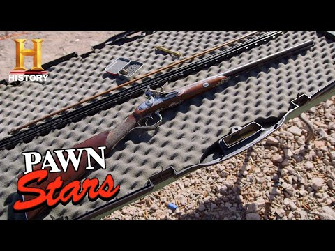 Pawn Stars: RARE SHOTGUN TRIPLES IN VALUE (Season 17) | History