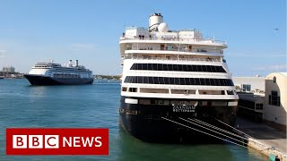 Cruise ships on which people with Covid-19 died have docked in Florida - BBC News