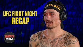 Max Holloway breaks down his win over Calvin Kattar | UFC Fight Night Post Show | ESPN MMA