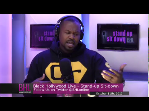 Stand. Up. Sit. Down. w/Clayton Thomas | October 12th, 2013 | Black Hollywood Live