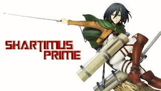 Kotobukiya Mikasa Ackerman ArtFXJ Attack on Titan Comic Manga TV Series Statue Review