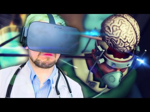 USE YOUR BRAIN   Surgeon Simulator VR #2 (HTC Vive Virtual Reality)