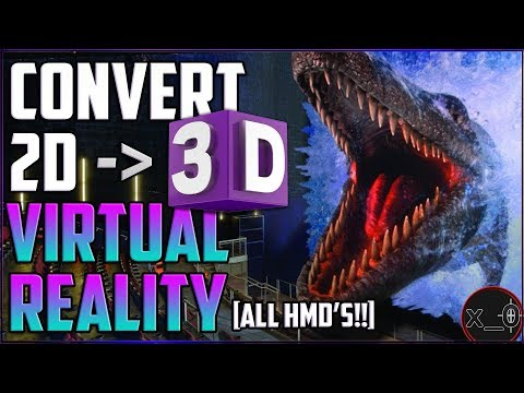 CONVERT 2D MOVIES TO 3D (SBS) VIRTUAL REALITY [FREE