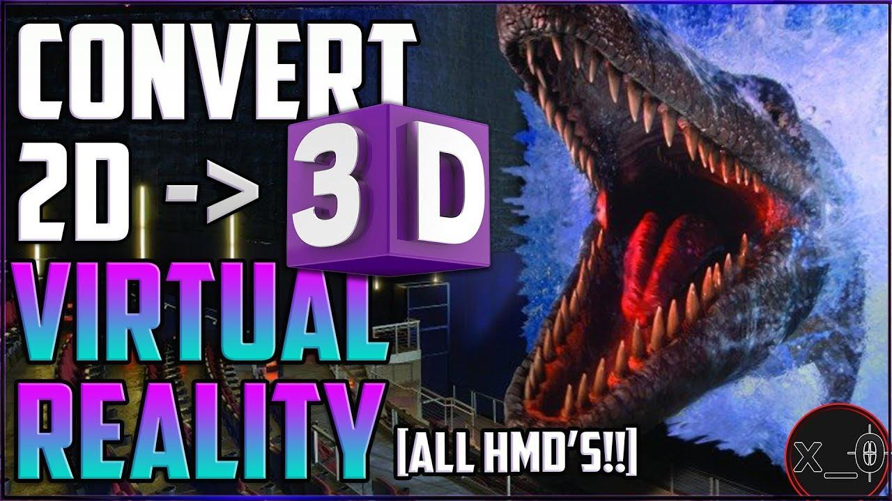 1fa2550c6d5b CONVERT 2D MOVIES TO 3D (SBS) VIRTUAL REALITY  FREE!!