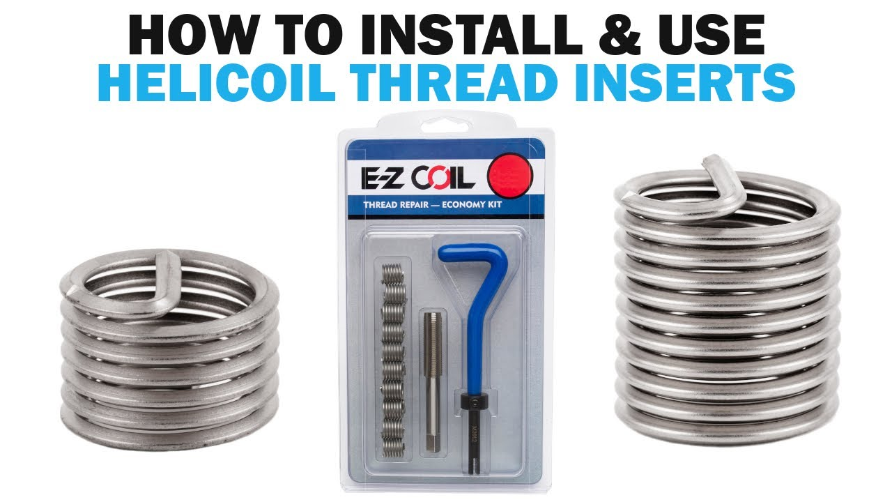 how to use helicoil inserts