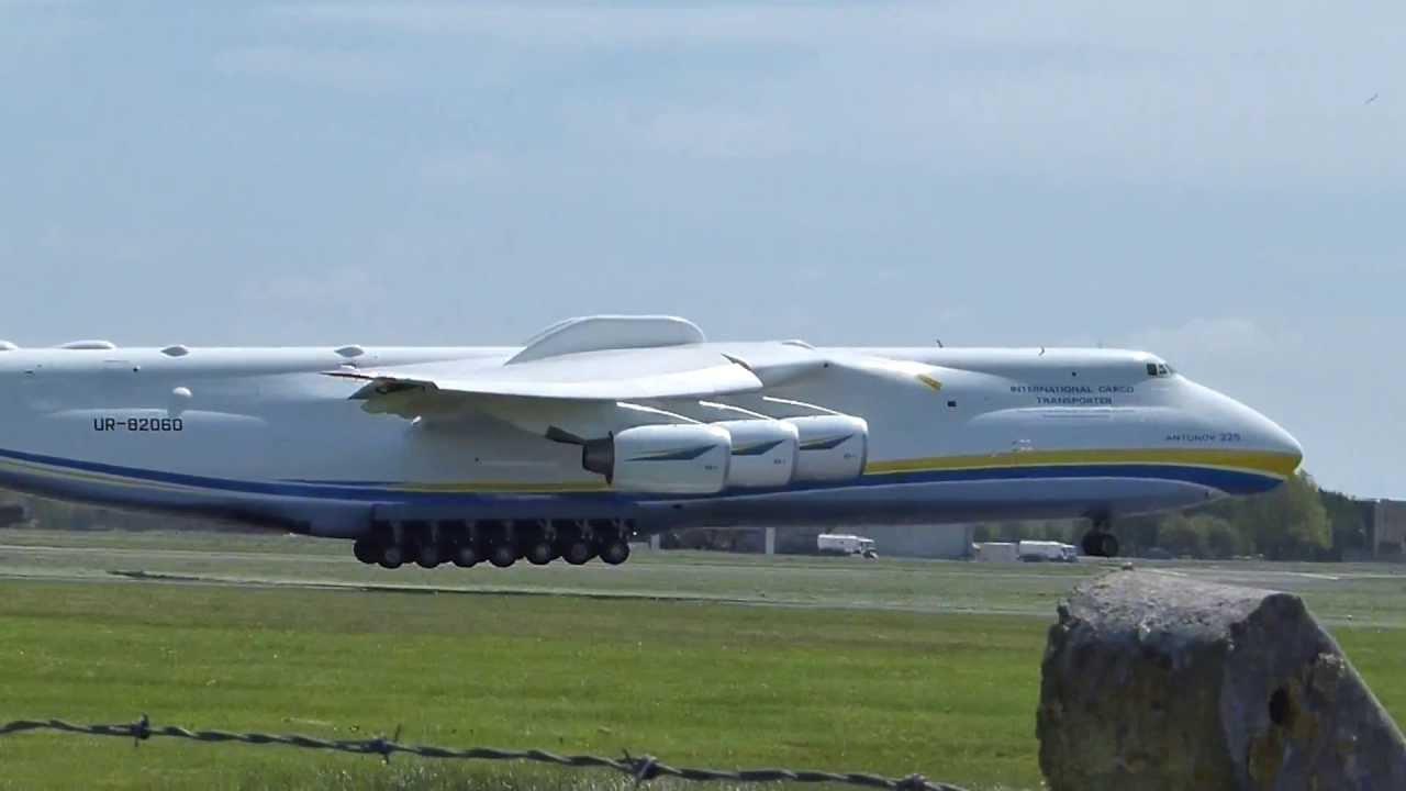 {HD} Antonov-225 Landing At Shannon Airport Ireland ...