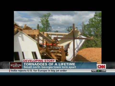 CNN: Tornado rips apart Ringgold, Georgia