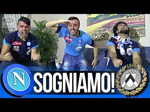 Sogniamo!!! napoli 4-2 udinese | live reaction tifosi napoletani hd