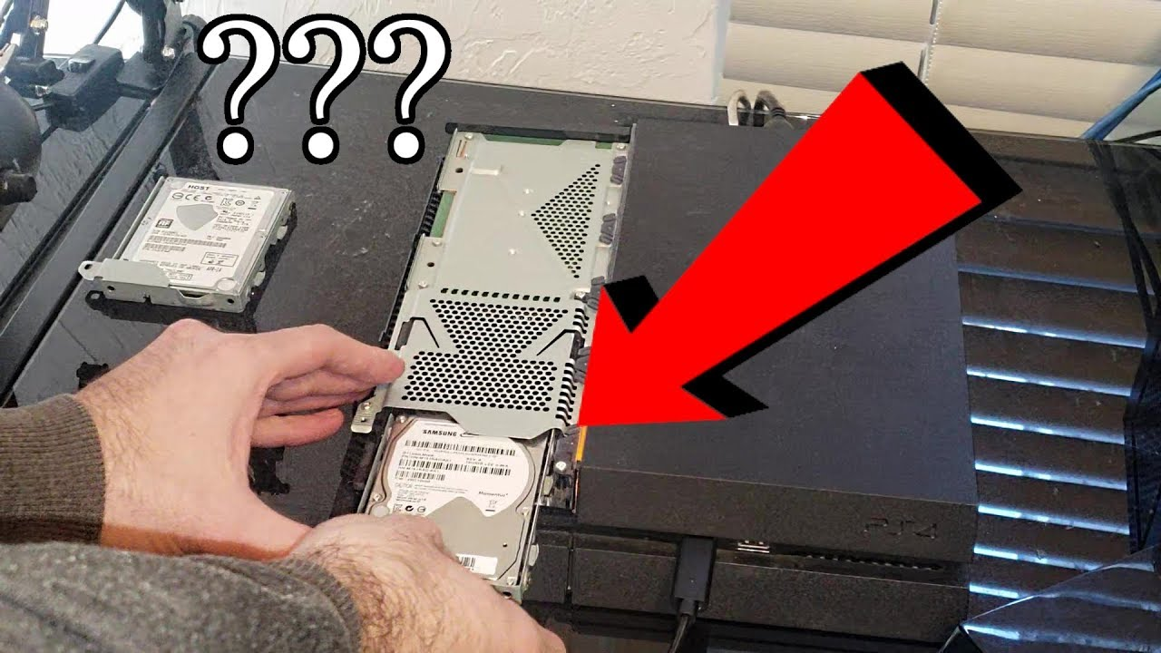 What happens when you SWAP PS4 HARD DRIVES with ANOTHER PLAYSTATION 4???