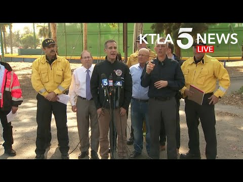 Authorities Provide Update On Getty Fire In Los Angeles