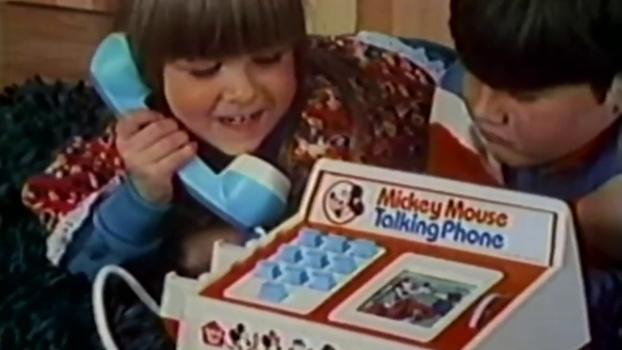 bbecaec4cc1efb Mickey Mouse Talking Phone from Hasbro -