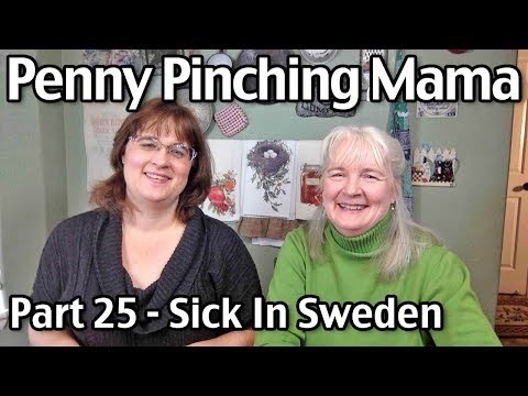 Sick in Sweden: Penny Pinching Mama Part 25