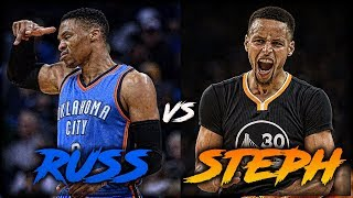 Russell Westbrook vs Stephen Curry - WHO IS BETTER (Pt. 1)