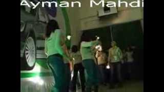 رقص موظقات شركة جوال part(1) , girl dance