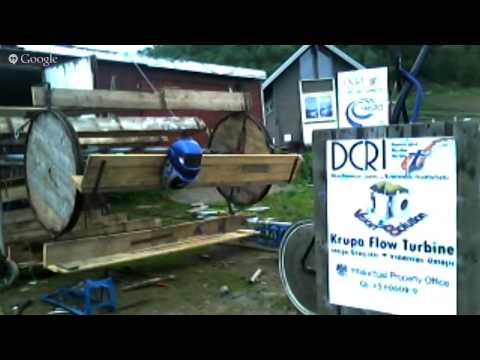 H2O2 Krupa Flow Turbine - Making of