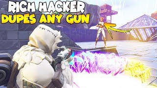 Richest Hacker Dupes Any Gun! 😱 (Scammer Gets Scammed) Fortnite Save The World