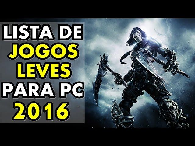 Lista De Jogos Leves Para Pc Fraco #1 (+ Download) | 2016