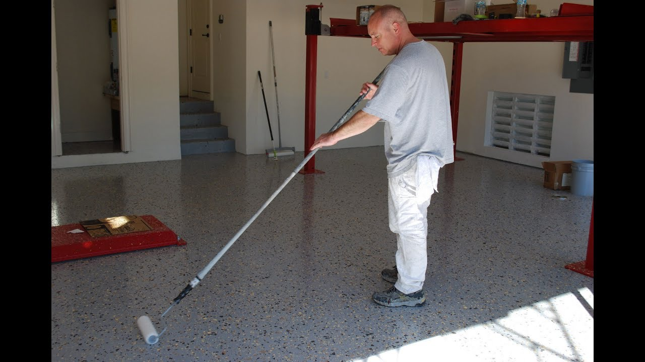 Garage flooring ideas how to make sure your garage floor for How to build a garage floor