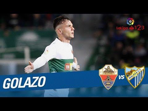 Golazo de Borja Martínez (2-0) Elche CF vs Málaga CF