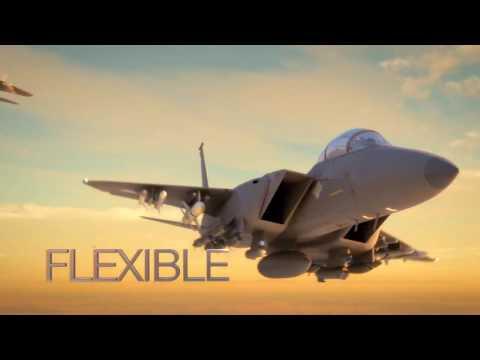 Boeing - F-15SE Silent Eagle Stealth Fighter For South Korea [1080p]