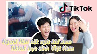 Người Hàn bất ngờ khi xem Tiktok học sinh Việt Nam