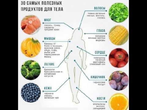 Какие продукты самые полезные?