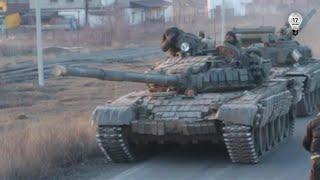 Запретный Донбасс. Ополченцы едут на ротацию под Дебальцево