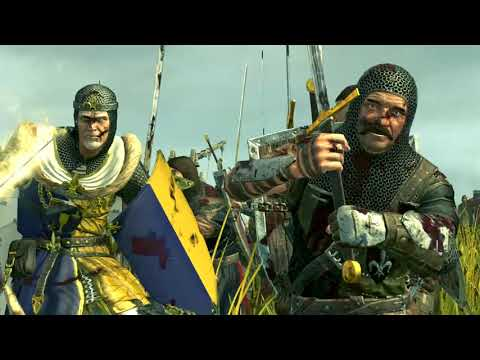 Chaos vs Bretonnia |Cinematic Battle| At Bretonnia Lake Castle - Total War: WARHAMMER Machinima