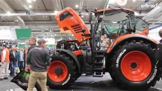 Les tracteurs Kubota M7003 à l'Agritechnica